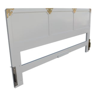20th Century Chinoiserie Henredon Headboard For Sale
