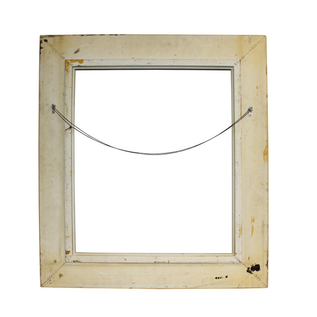 2000 - 2009 Wood Golden Scroll Motif Rim Rectangular Picture Painting Frame For Sale - Image 5 of 6