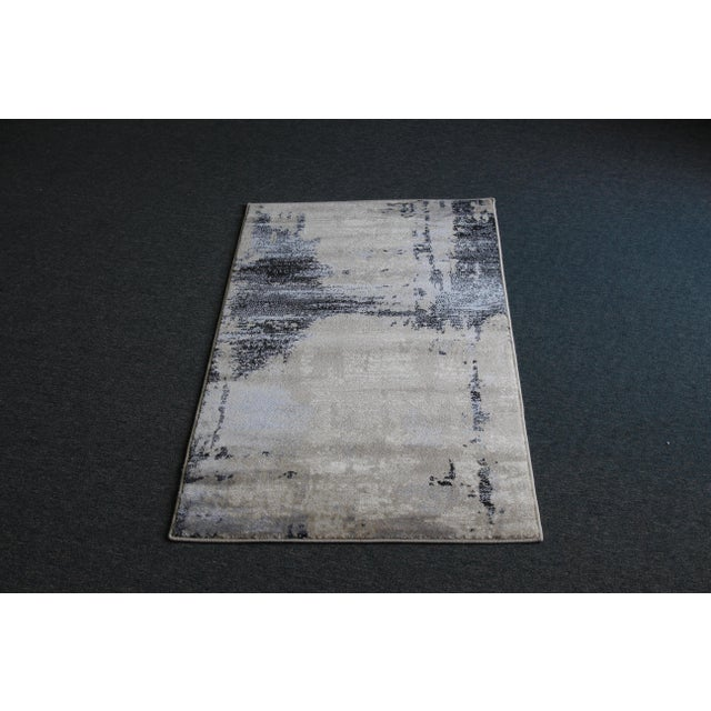 Contemporary Brown Abstract Rug - 8' X 10'7'' - Image 2 of 6