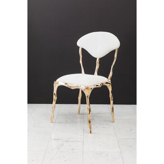 Markus Haase, Faceted Bronze Dining Chair, Usa, 2018 For Sale - Image 13 of 13