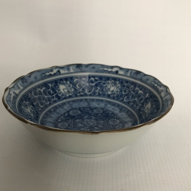 Blue & White Chinese Porcelain Bowl For Sale - Image 5 of 11