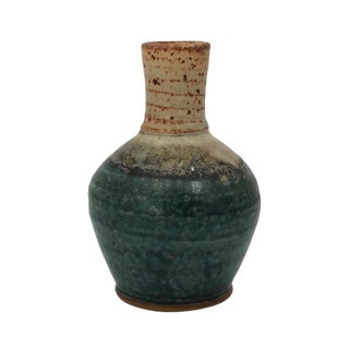 Jeff Brown, Northwood Pottery Studio Hand-Thrown Stoneware Vase For Sale