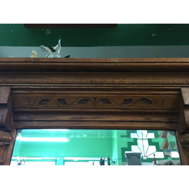 Traditional Victorian Eastlake Pier Mirror For Sale - Image 3 of 9