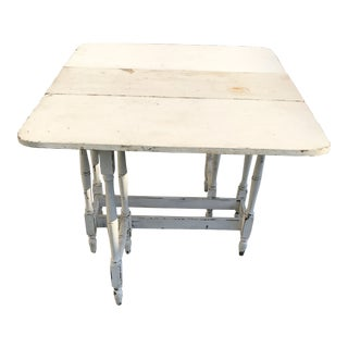 Vintage Shabby Chic Folding Dining Table