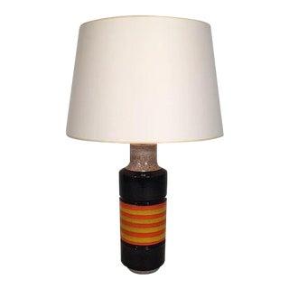 Raymor Italian Ceramic Lamp For Sale