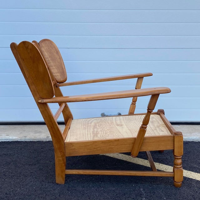 Heywood Wakefield Lounge Chair For Sale - Image 13 of 13