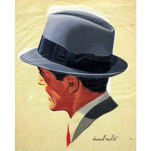 Hat Illustration Giclee Print For Sale