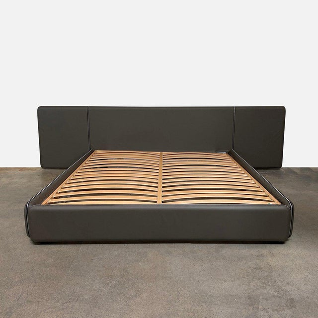 Retail value: $17,850 Ivano Redaelli 'Suite A' Cal King Bed An impressive bed in design and scale the 'Suite A' bed takes...