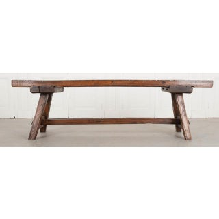 English Early 19th Century Thick Oak Bench Preview