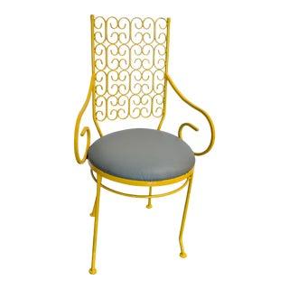 1960s Vintage Arthur Umanoff Arm Chair For Sale