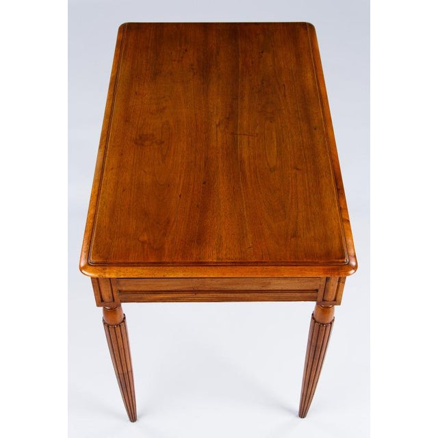 French Louis XVI Style Walnut Desk, Early 1900s For Sale In Austin - Image 6 of 11