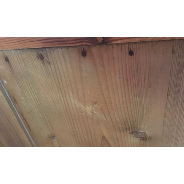 19th C Antique French Pine Cabinet For Sale - Image 9 of 13
