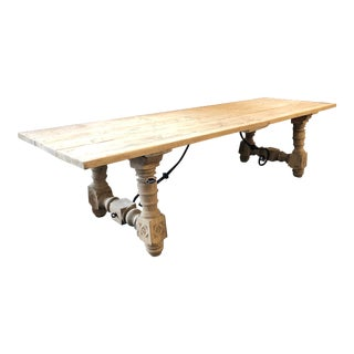 Spanish Renaissance Revival Dining Table For Sale