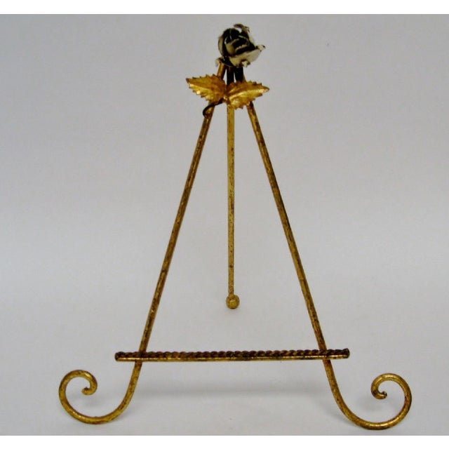 White Small Italian Easel For Sale - Image 8 of 8
