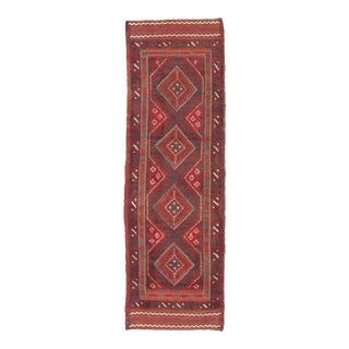 "Afghan Tribal Hand-Knotted Runner-2'1"" X 7'3"" For Sale"