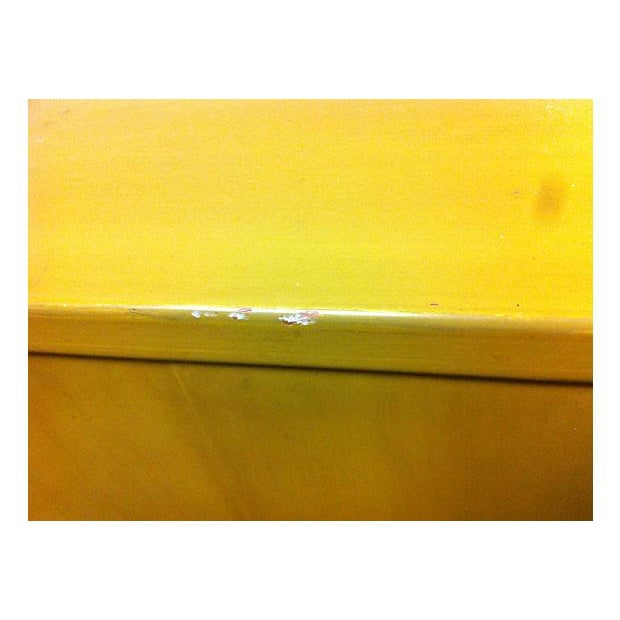 Chartreuse Asian Style Lacquered Credenza - Image 5 of 7