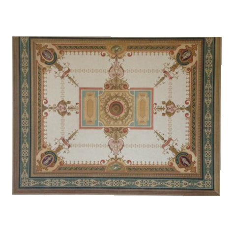 German Architectural Decorative Chromolithograph - Image 1 of 4