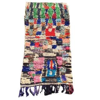 Jimi Moroccan Boucherouite Rug - 2′9″ × 5′8″ For Sale