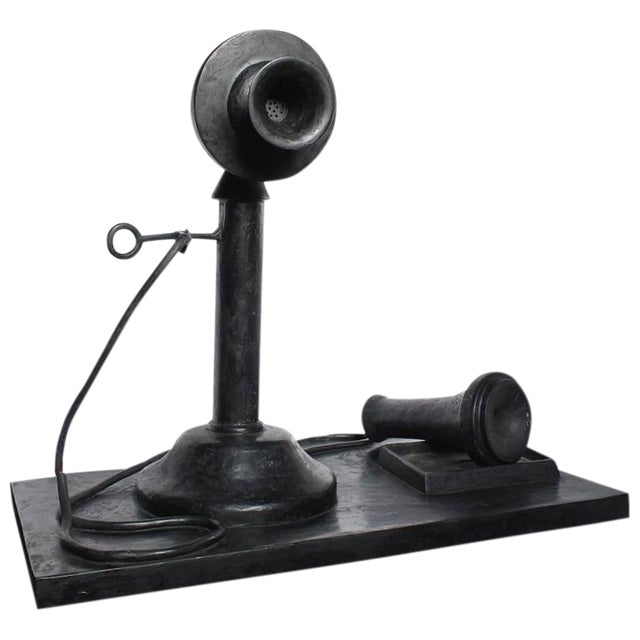 1970s over Sized Pop Art Telephone Sculpture by Iris Adler - Image 1 of 2