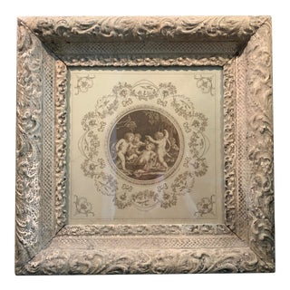 18th Century Engraving of Bacchus For Sale