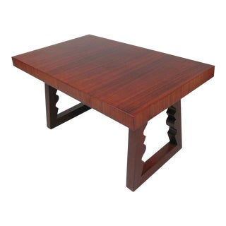 1948 Rosewood & Mahogany Cocktail Table by Andrew Szoeke For Sale
