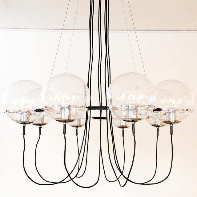 RAAK Saturnus Glass Globe Chandelier by Raak of Holland For Sale - Image 4 of 13