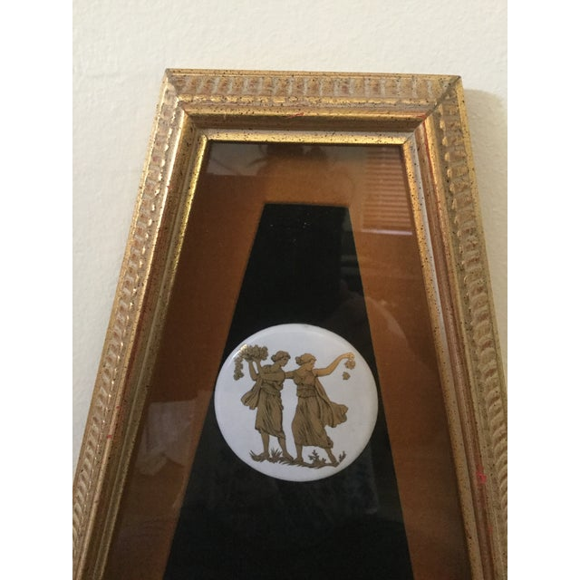 Mid Century Grecian Shadowbox by Andrew Kolb and Son Ltd - a Pair For Sale In Miami - Image 6 of 13