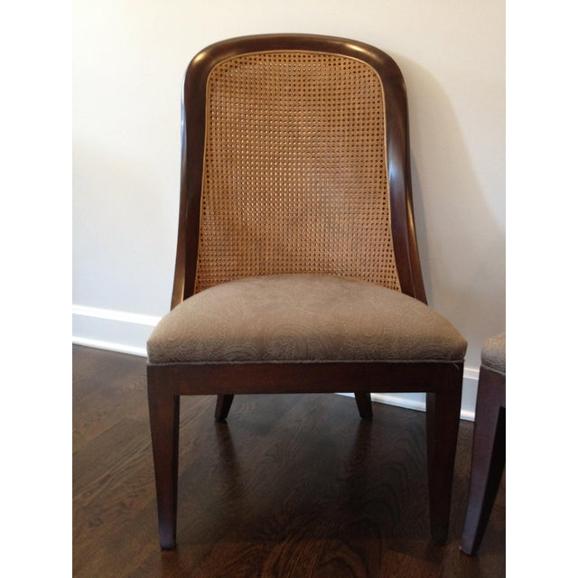 Hickory Chair Co. Caned Back Side Chairs - Pair - Image 3 of 11