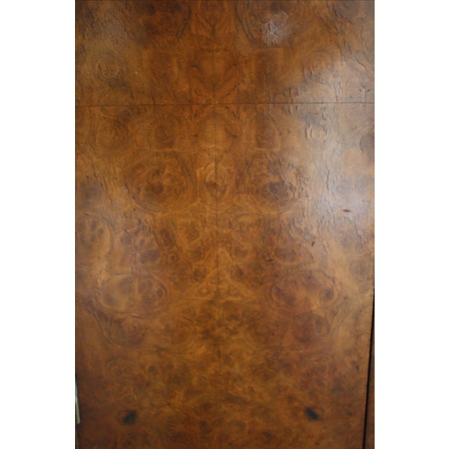Art Deco Burl Wood Bar Cabinet - Image 6 of 8