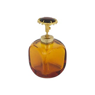 Amber Perfume Bottle