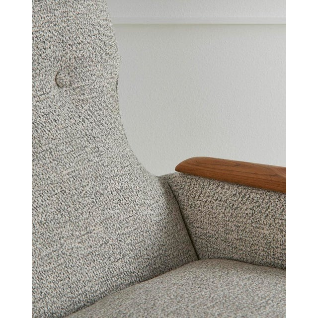 A Pair of Highback Lounge Chairs, 1960s For Sale - Image 9 of 10