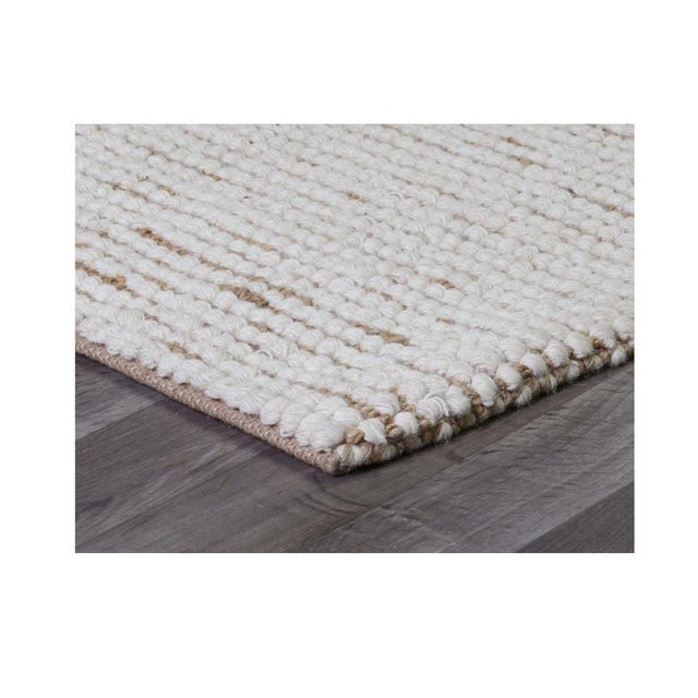 High-quality craftsmanship defines our Hudson rug, hand-woven of fine Indian wool mixed with jute and cotton. Natural and...