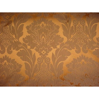 Kravet Couture Pearson Bronze Floral Damask Upholstery Fabric- 1 1/2 Yards For Sale