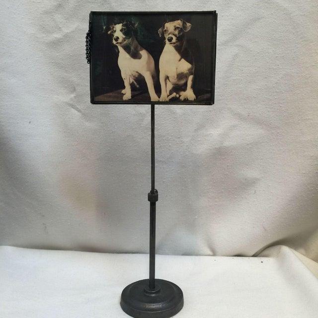 Vintage Metal Standing Picture Frames - Set of 4 - Image 3 of 8