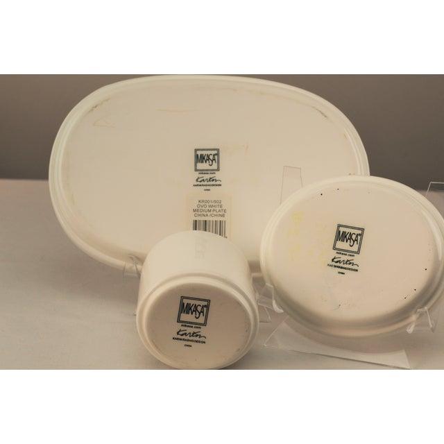Karim Rashid Karim Rashid Mikasa Sushi Plates - Set of 3 For Sale - Image 4 of 5