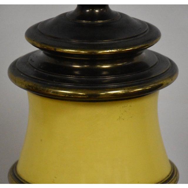 Stiffel Yellow Table Lamp - Image 6 of 8