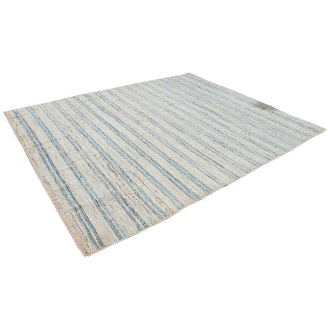 """21st Century Modern Moroccan-Style Rug, 8'0"""" X 9'10"""" For Sale - Image 4 of 11"""