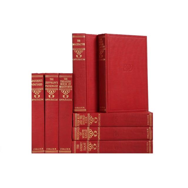 Gilded British Novels: E.P. Oppenheim - Set of 8 - Image 1 of 2