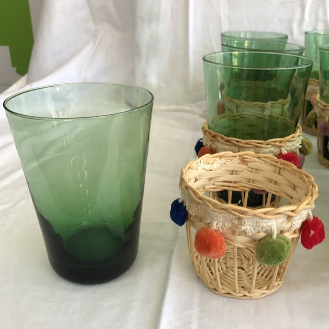 Fiesta Green Glass Beverage Set - Set of 13 - Image 5 of 6