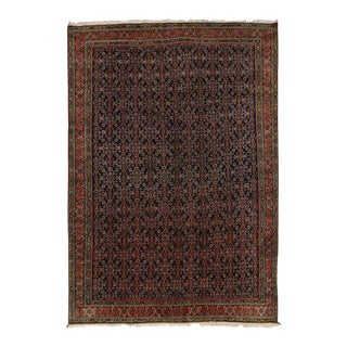 Antique Bidjar Persian Rug with Modern Traditional Style, the Iron Rugs of Persia For Sale