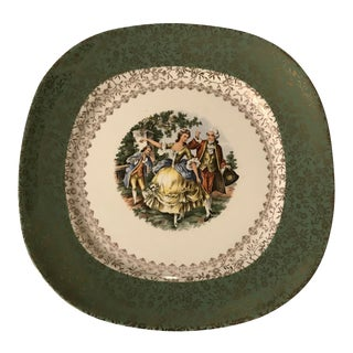Vintage Taylor Smith Taylor Courting Victorian Couple Plate - Quantity 10 Plates
