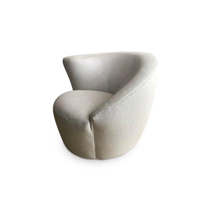 Vladimir Kagan 'Nautilus' Lounge Chair For Sale - Image 9 of 11