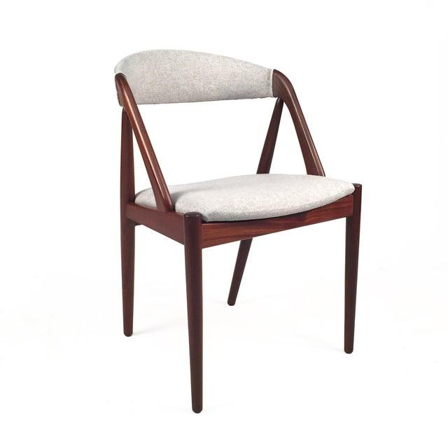 Vintage Danish Kai Kristiansen Model #31 Teak Dining Chairs - Set of 4 - Image 3 of 9