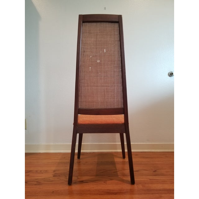 Tempo of California Mid-Century Cane Back Dining Chairs - Set of 4 For Sale - Image 4 of 11