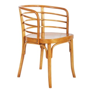 Beechwood Armchair by Josef Frank for Thonet, 1930s For Sale