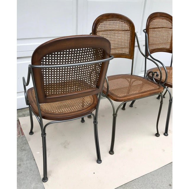 A gorgeous set of chairs perfect for enjoying your coffee and morning croissant!! These chairs are vintage and are...