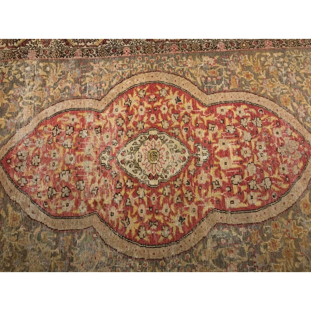 Bellwether Rugs Distressed Look Vintage Turkish Oushak Area - 4'x6' - Image 4 of 11