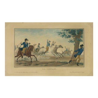 Charles Vernet, Horse Race For Sale