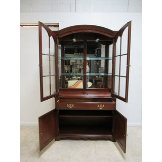 Pennsylvania House Cherry Petite China Cabinet Preview