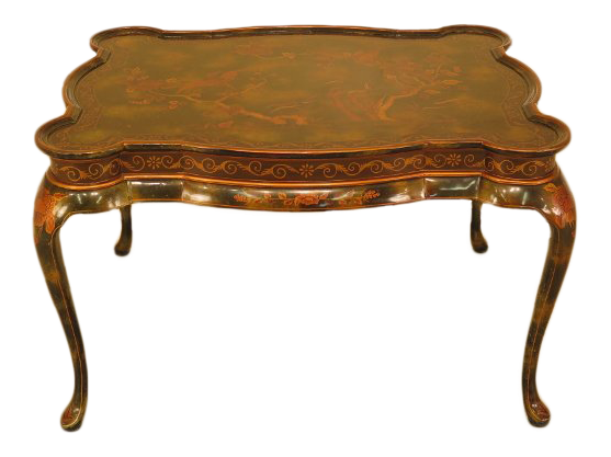 Exceptionnel 1990s Vintage Maitland Smith Lacquered Coffee Table